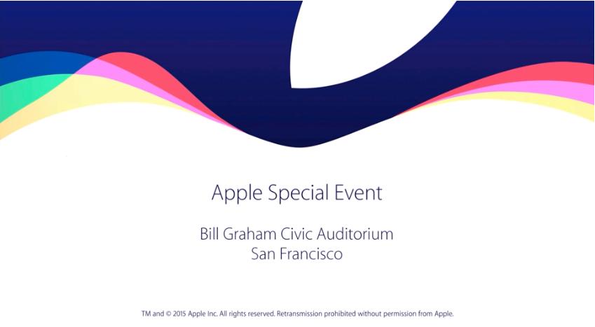 novità Apple Keynote Settembre 2015