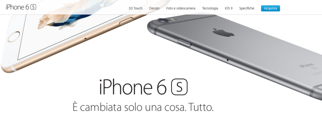 iPhone 6S più venduto