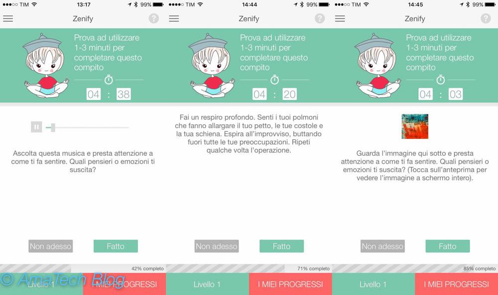 recensione app zen ios zenify