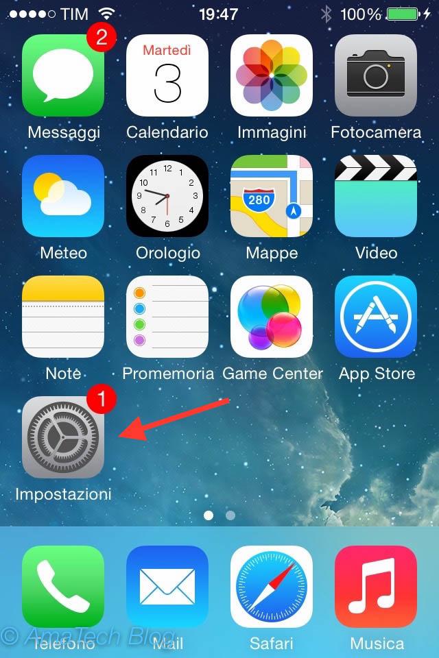 attivare disattivare anteprima messaggi iPhone