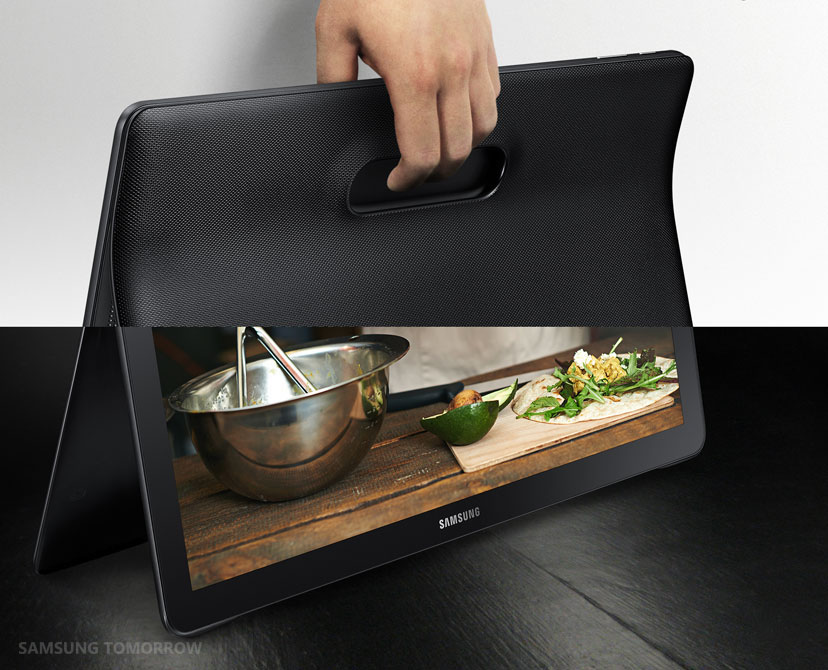grande tablet di samsung galaxy view