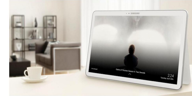 grande tablet di samsung