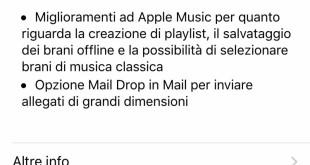 Apple rilascia iOS 9.2