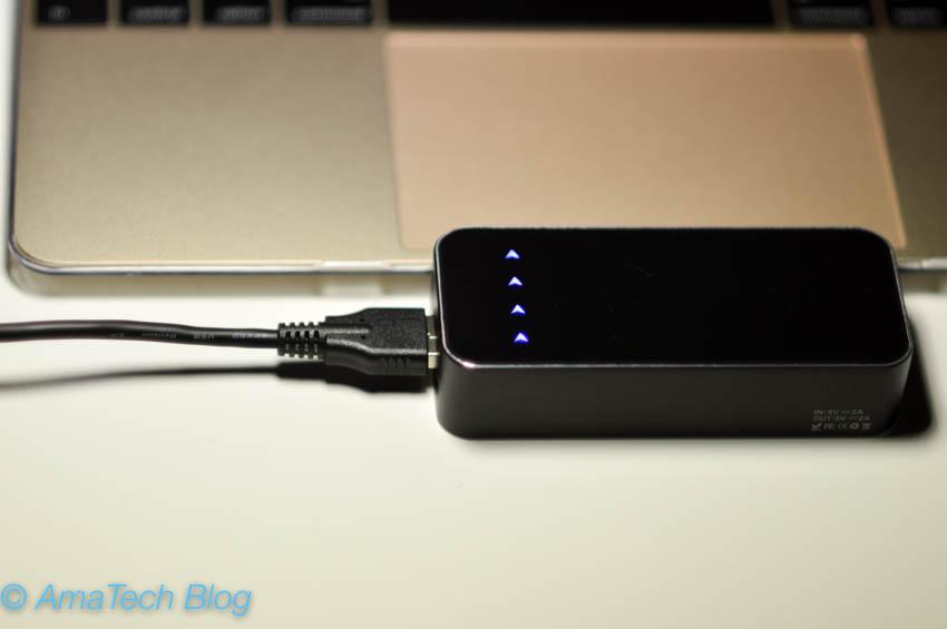 recensione cavo sincronizzazione e ricarica USB C USB