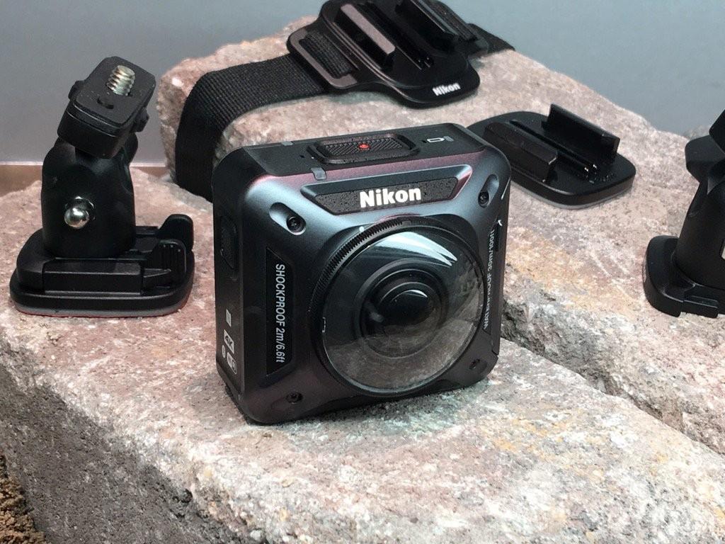 prima action cam Nikon 360 4K