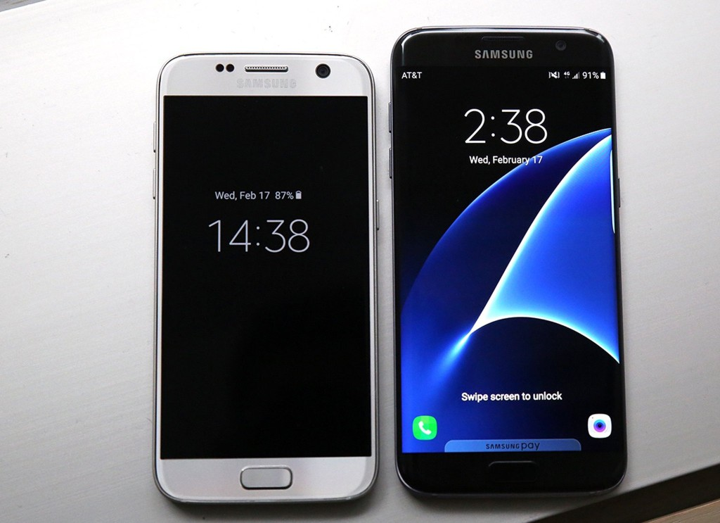 samsung galaxy s7 ed s7 edge presentato ufficialmente