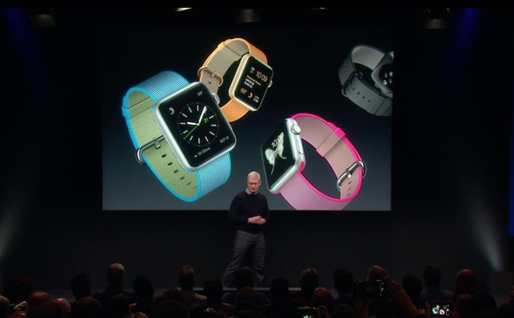 novità apple watch marzo 2016
