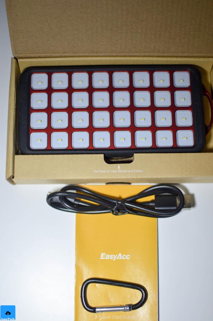 recensione powerbank solare easyacc