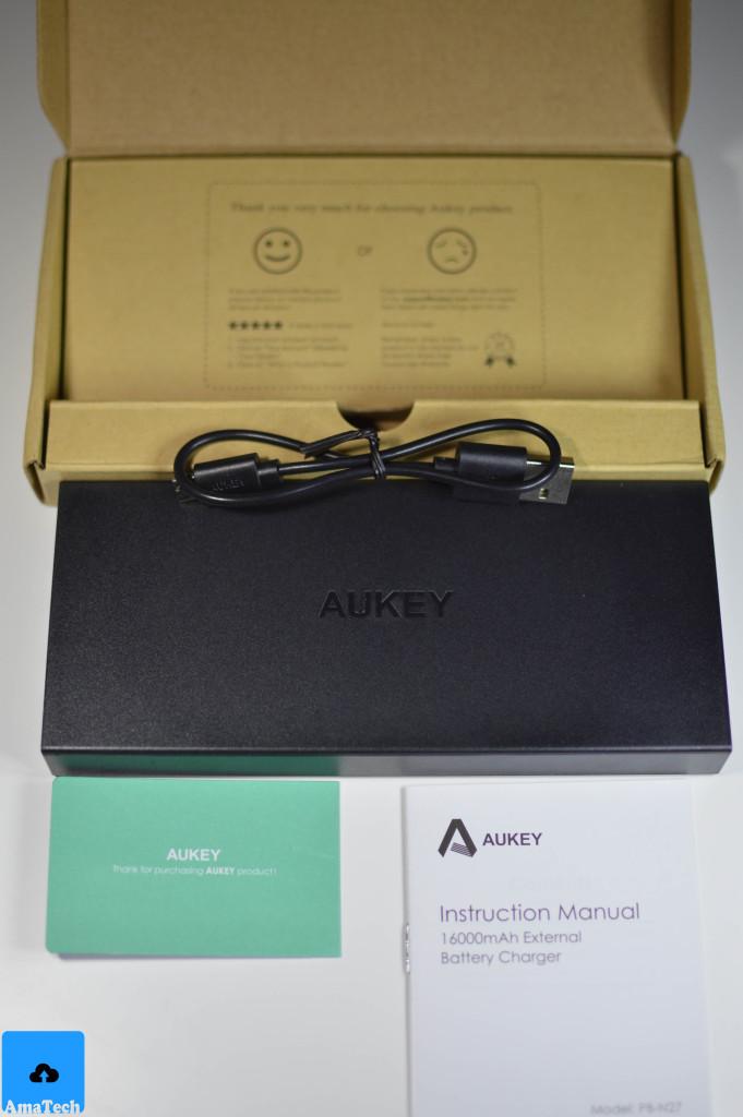Recensione Aukey Powerbank