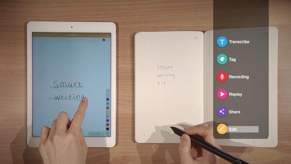 penna che digitalizza la scrittura