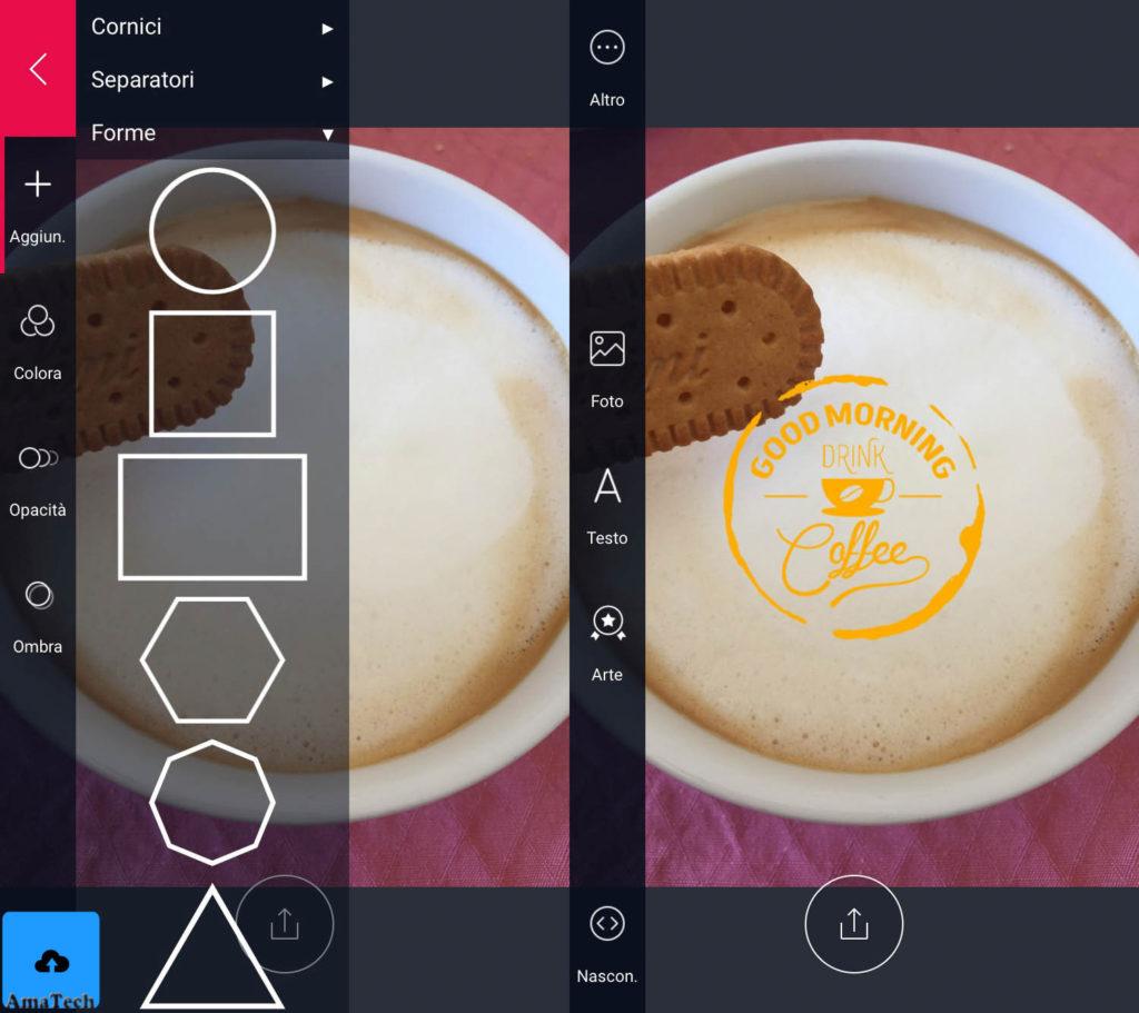 app per scrivere su foto iPhone