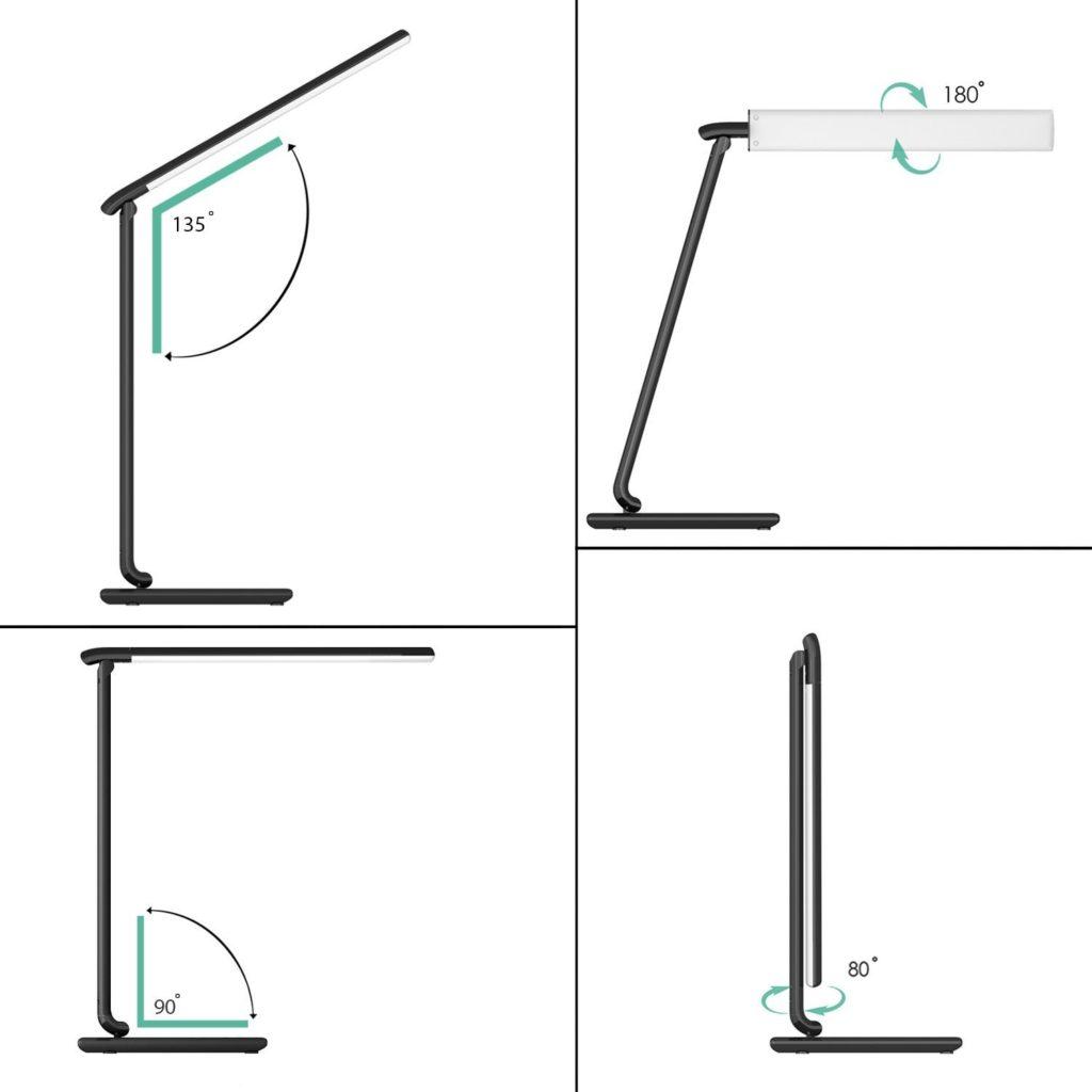 lampada scrivania aukey