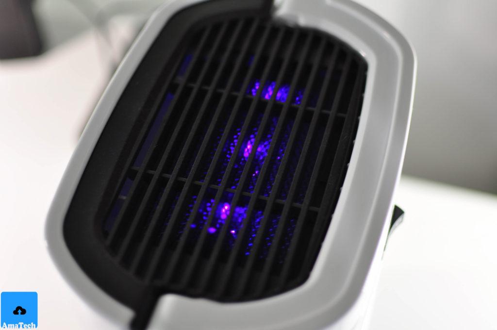 recensione deumidificatore raggi uv homasy