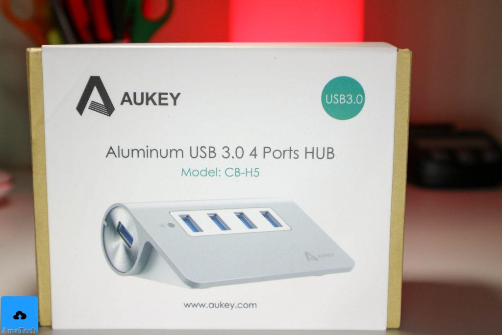 recensione hub usb alluminio aukey