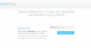 salva.link il metodo più semplice e veloce per salvare preferiti in cloud