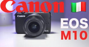 Canon EOS M10 Review ITA