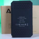 recensione caricabatterie solare aukey 12000mah