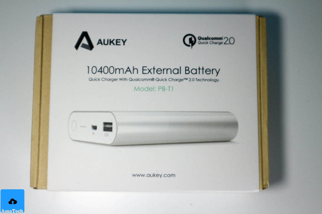 Powerbank alluminio