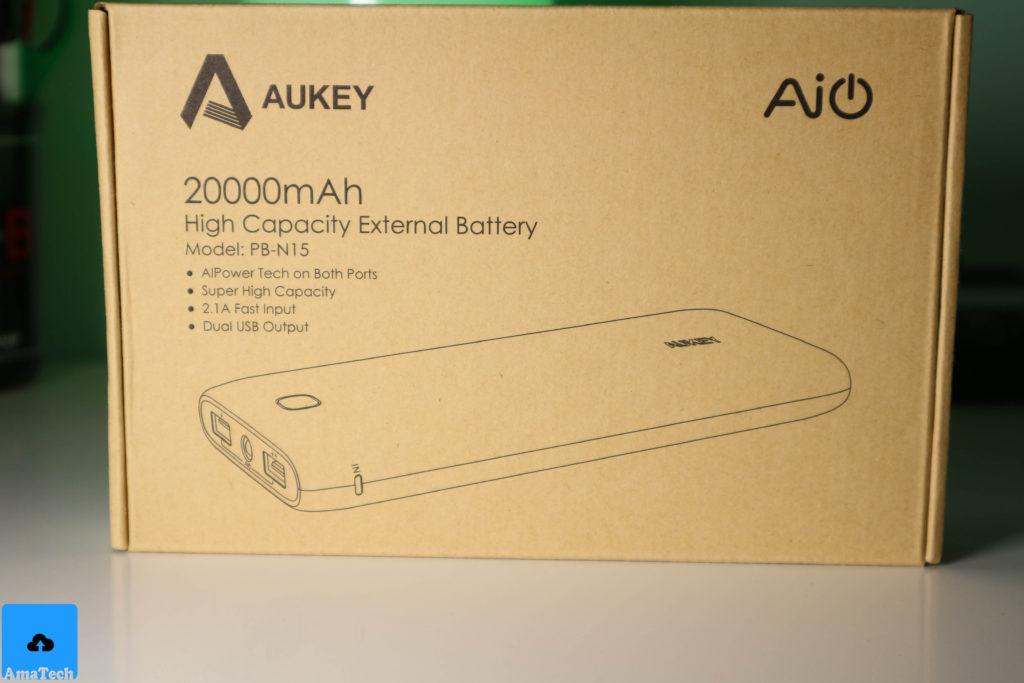 powerbank Aukey 20000mAh PB-N15