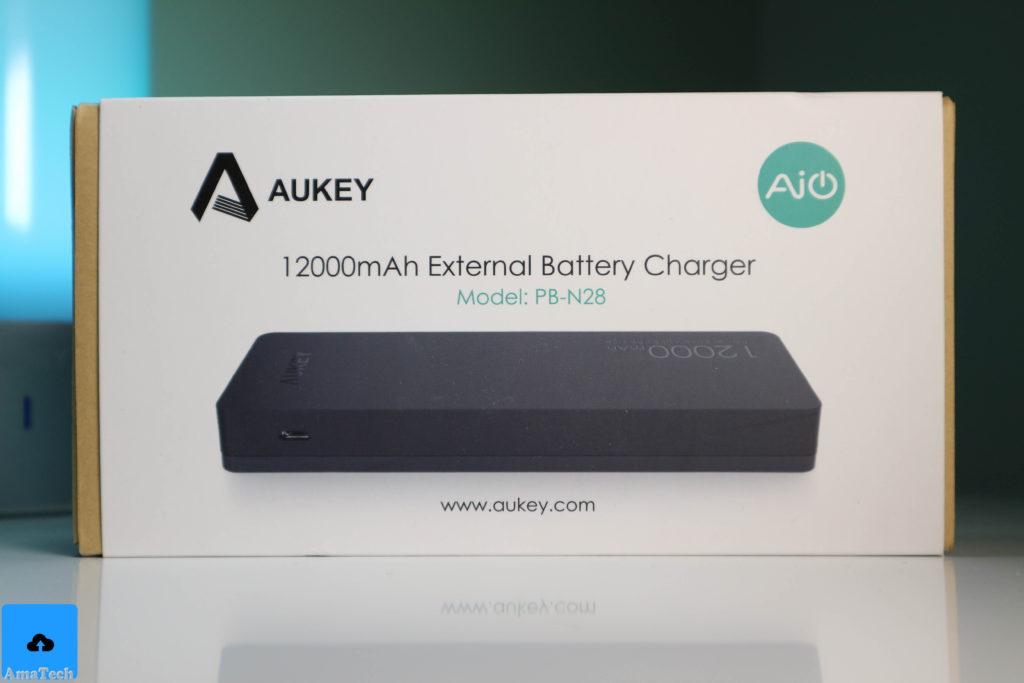 recensione batteria esterna aukey