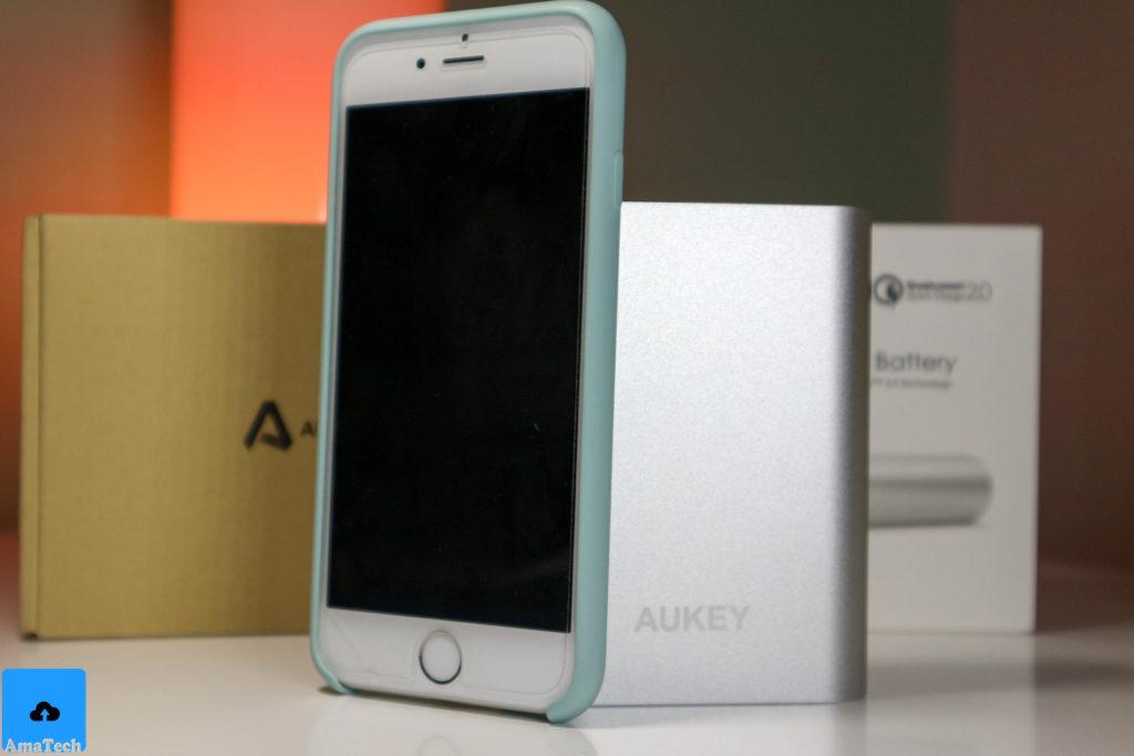 recensione powerbank alluminio aukey