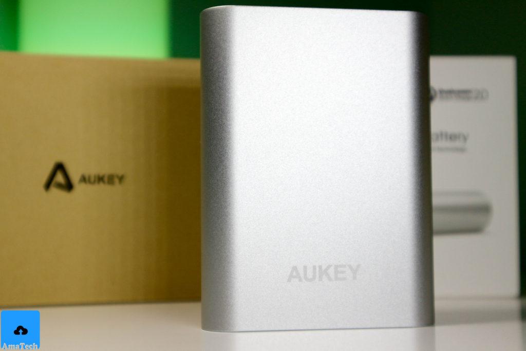 recensione powerbank alluminio aukey PB-T1