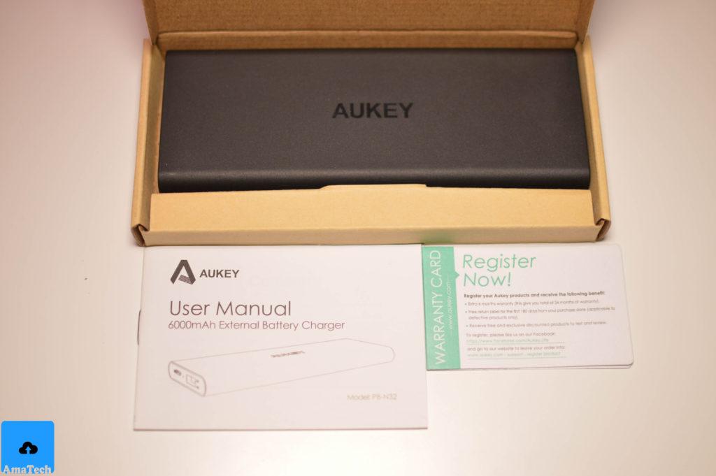 recensione powerbank lightning aukey