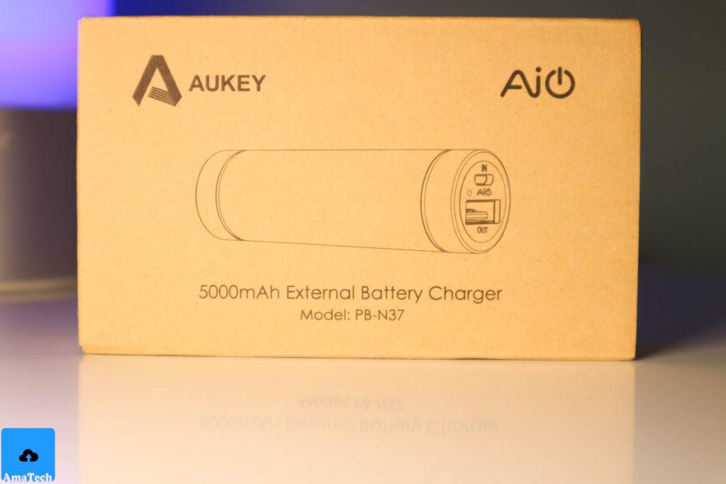 recensione powerbank piccolo e potente Aukey