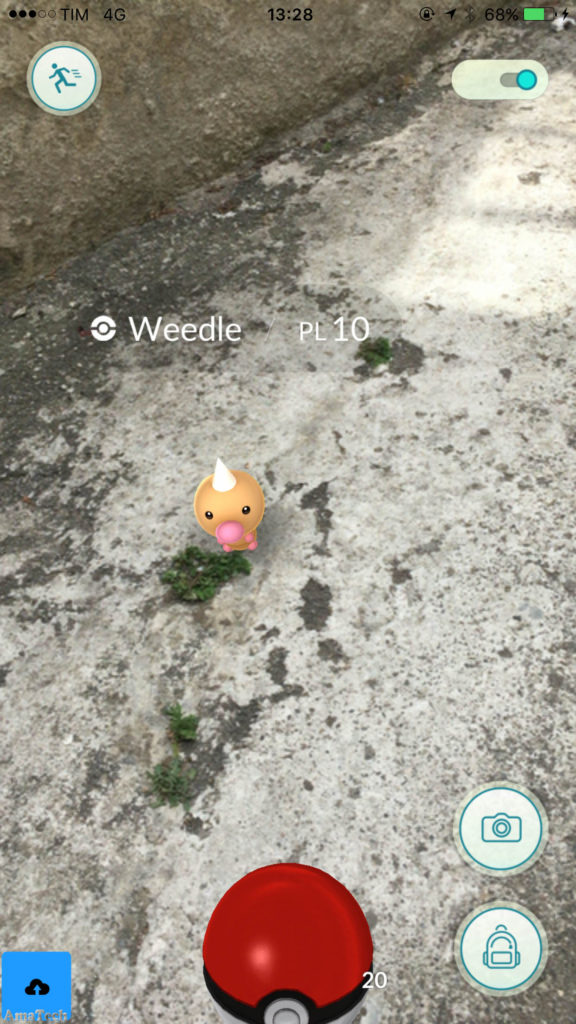 Pokemon GO iOS in italia
