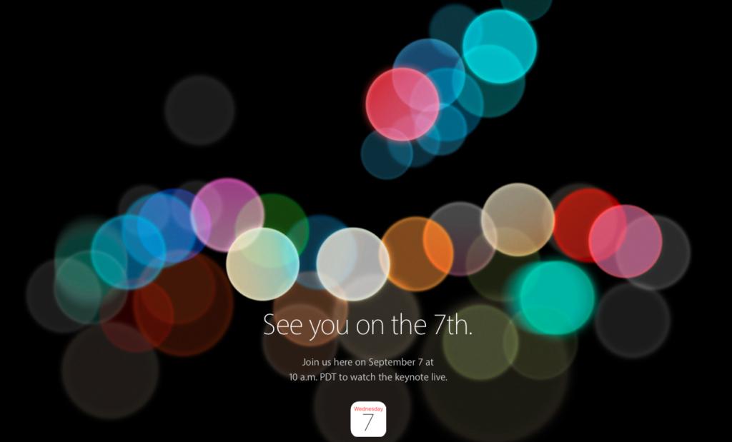 data di presentazione di iPhone 7