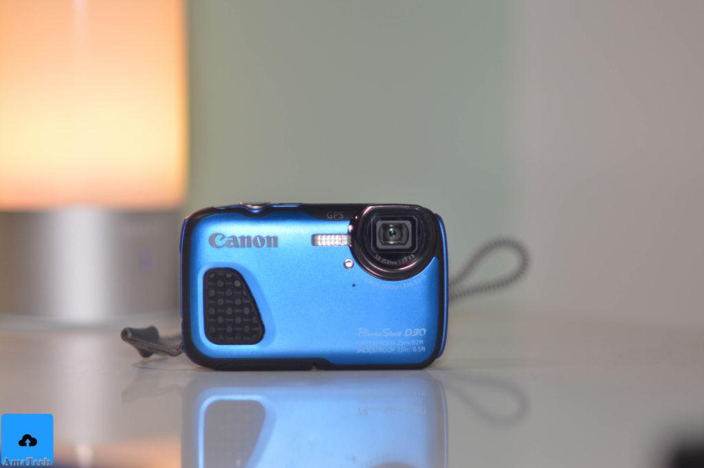 recensione Canon Powershot D30