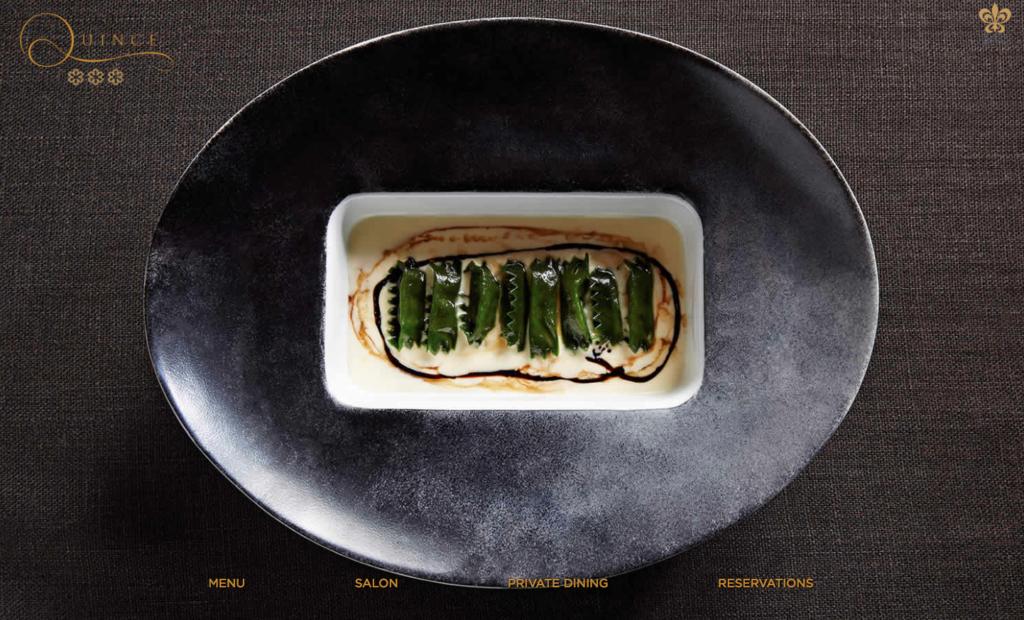 ristorante di San Francisco che usa iPad come piatto