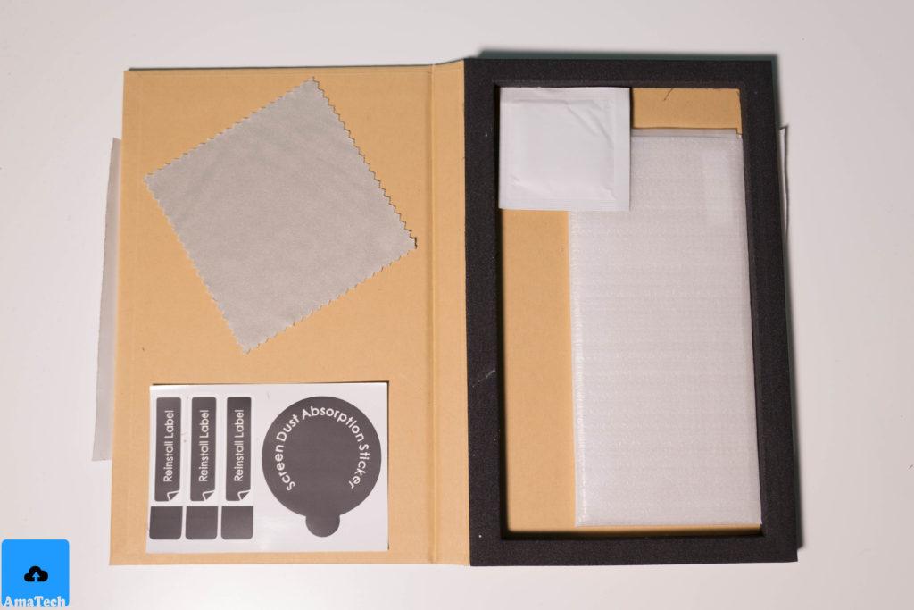 pellicola con bordo in silicone