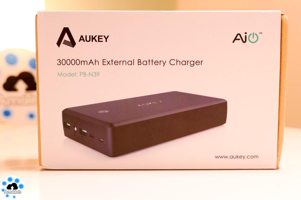 Powerbank 30000mAh Aukey