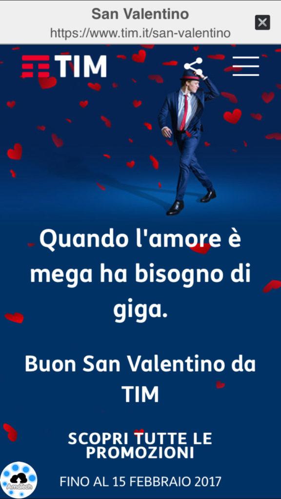 offerte TIM di San Valentino