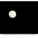 moon footage canon sx620 HS