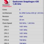 CPU Z Moto G