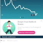 app fitbit monitoraggio battito