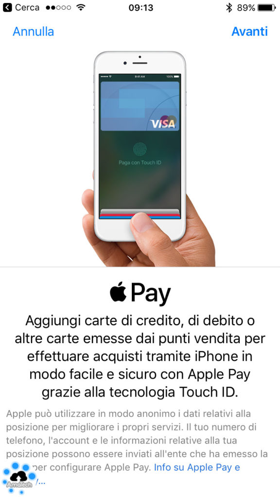 apple pay in italia disponibile da oggi
