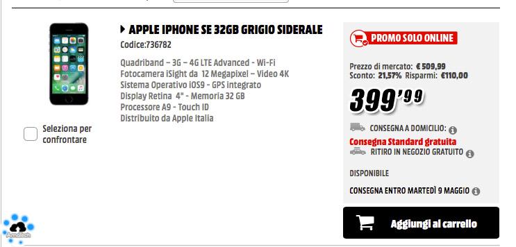 iPhone che costa meno in assoluto al momento