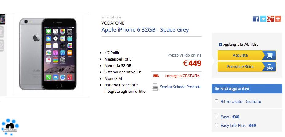 iPhone che costa meno in assoluto