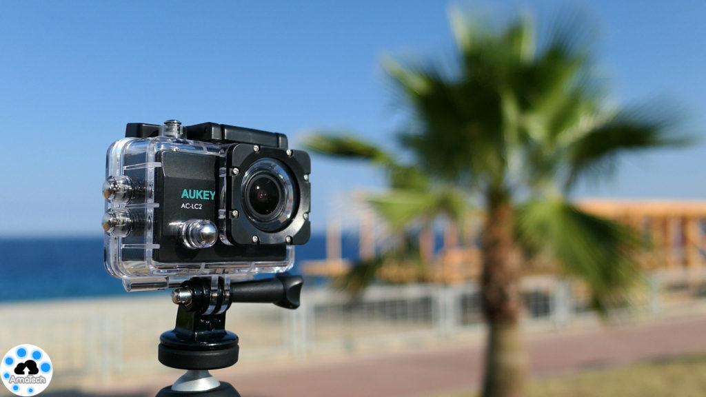 recensione action cam aukey 4K