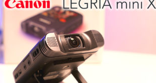 Legria mini X YouTube