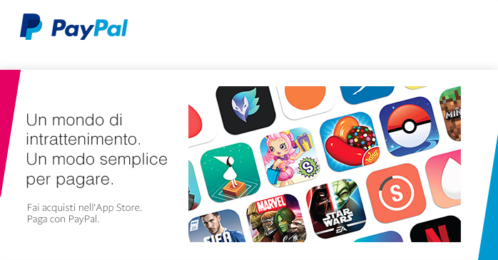 pagamento Paypal App Store