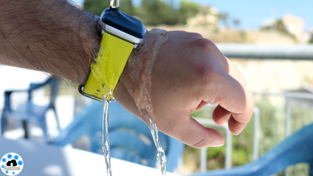 test Skinomi Techskin Apple Watch