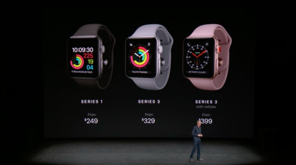 prezzi apple watch serie 3
