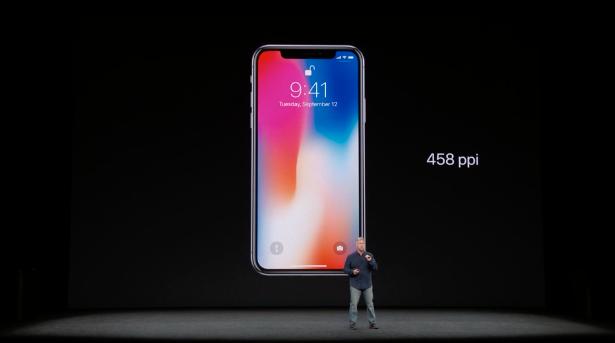 risoluzione iPhone x