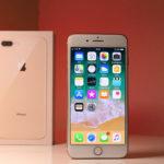 foto iPhone 8 Plus display