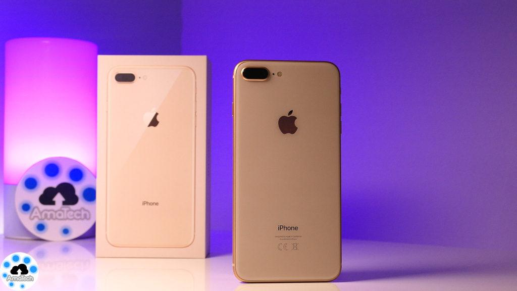 recensione iPhone 8 Plus gold