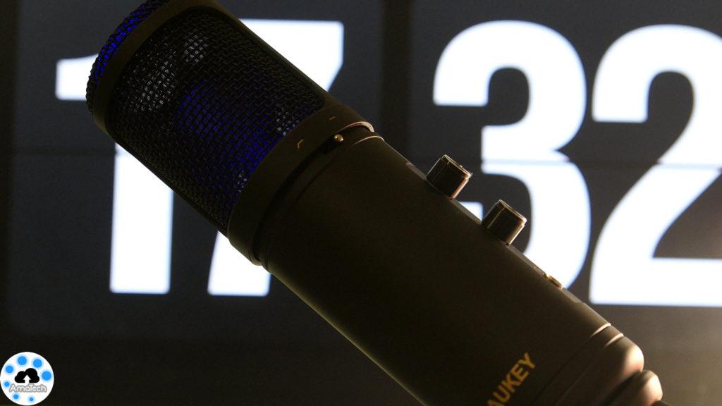 Aukey microfono a condensatore low cost